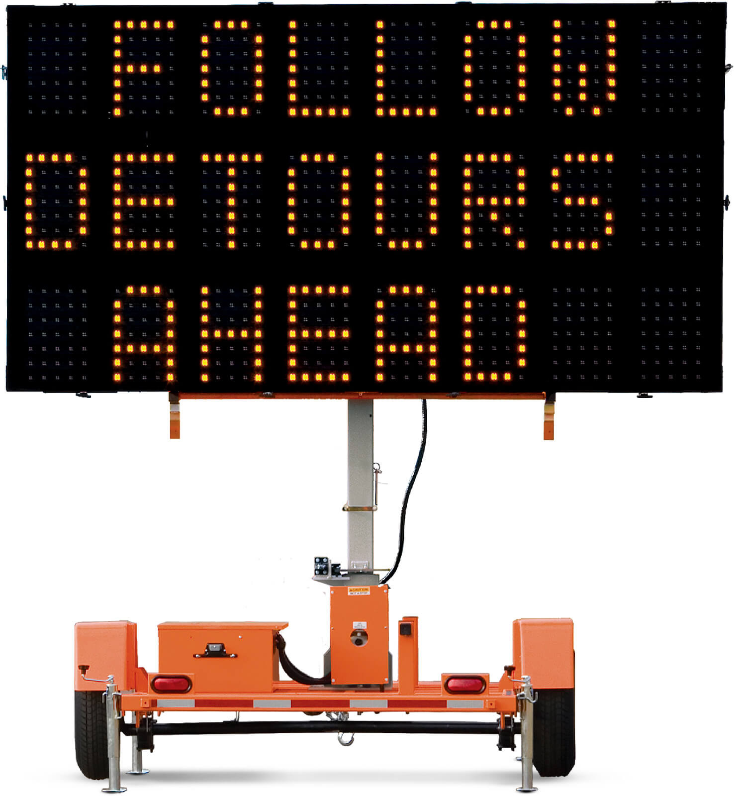 Liddell Leasing portable message signs, message boards, arrow boards